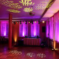 Sala taneczna przed przybyciem Gości