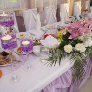 Dekoracja stołu głównego